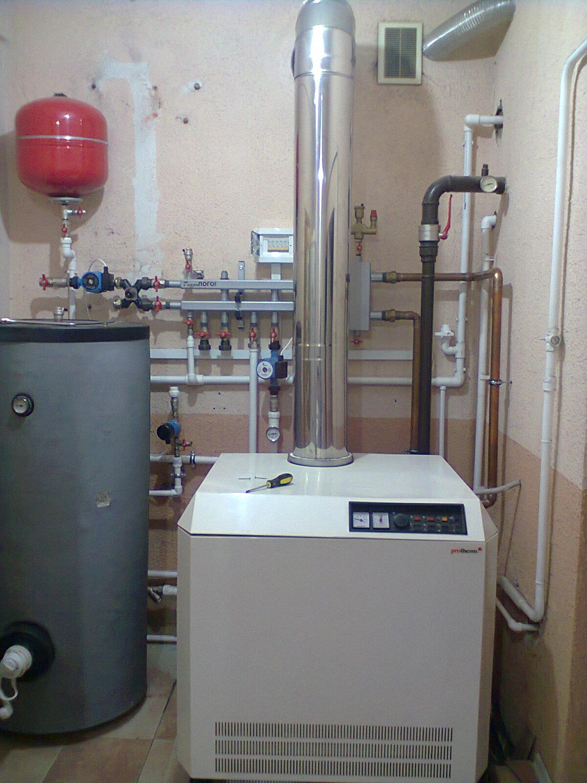 схема вентиляции в котельной частного дома