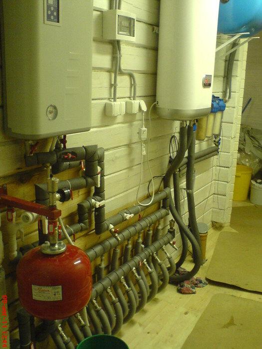 схема система отопления с