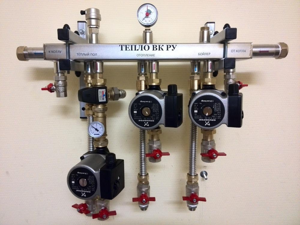 Гидромодуль нерж. эконом до 40 кВт 3 группы