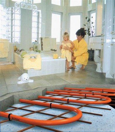 Монтаж систем водяного теплого пола