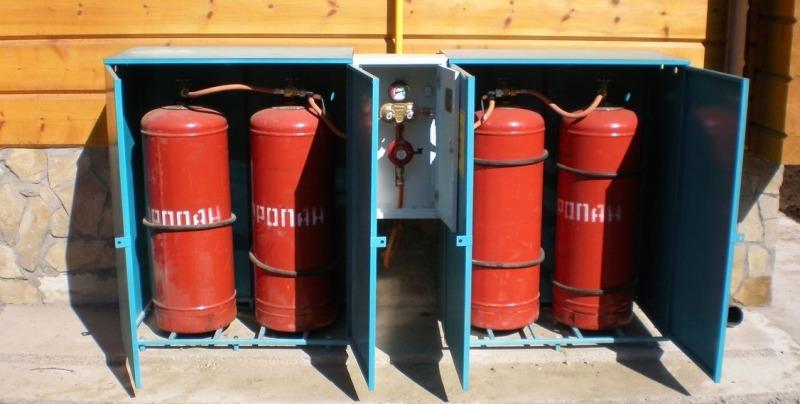 редуктором газа на 50 мбар